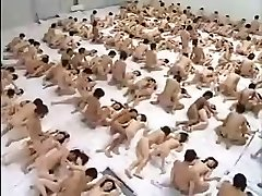 Big Group Hookup Orgy