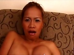 Amazing pornstar Mika Kani in hottest light-haired, asian adult scene
