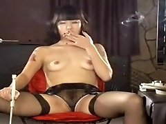 Exotic homemade Small Tits, Smoking pornography sequence
