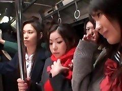अद्भुत जापानी मॉडल Minaki Saotome, Azusa Nagase में पागल बालों वाली जापानी दृश्य