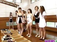 Kinky girls sind notleidenden zum ficken