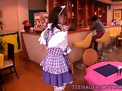 Cosplay nippon teenie blowbanging until mass ejaculation