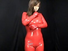 Chinese Spandex Catsuit 59