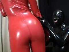 Asian Latex Catsuit 69