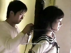 Japanese model restrain bondage