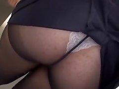 Crazy Japanese whore Yayoi Yanagida in Fabulous Gigantic Funbags, Office JAV clip