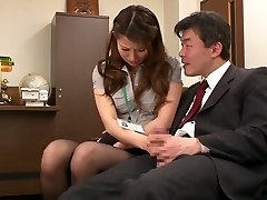 Nao Yoshizaki in Hookup Slave Office Female part 1.2