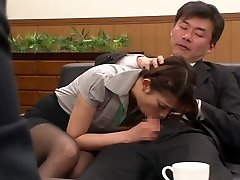 Nao Yoshizaki in Sex Victim Office Lady part 1.2