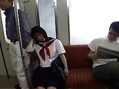 Seducing में एक छात्रा ट्रामवे