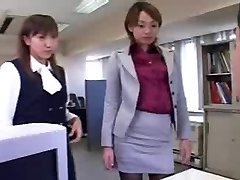 सीबीटी महिलाओं का दबदबा - अपमान - जापानी लड़कियों में कार्यालय