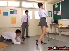 Kaori Red-hot Asian teacher getting