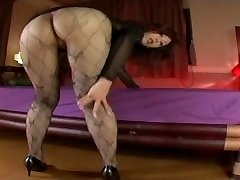 Chinese Av Model Shame ! Spycam : Hairy Pussy Through Pantyhose ! 9