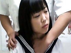 Hidden Cam Schoolgirl ejaculation Massage 1