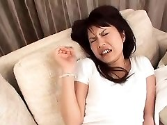 Pregnant asian sweetheart doing doggie-style