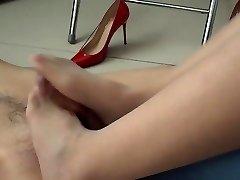 #Asian Femdom Foot Play
