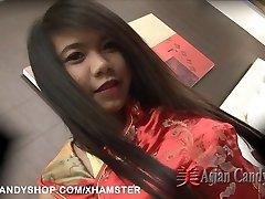 थाई अश्लील करतब. तंग एशियाई Cuties