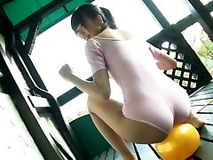Delightful Japanese kitty Sumire Aihara flashes her cameltoe