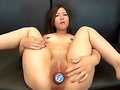 Two Hot Asian Enormous Bottle Insertions