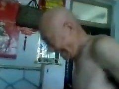 Boinking a Chinese Grannie