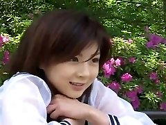 Nurse outfit suits spectacular Japanese damsel Aki Hoshino