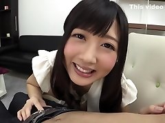 Best Japanese whore Hibiki Otsuki in Incredible handjobs, rimming JAV clip