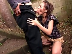 Horny Chinese model Ruri Saijou in Exotic JAV censored Swallow, Gang-bang scene