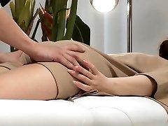 Asian Hardcore Anal massage and intrusion