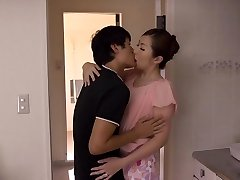 Aoi Aoyama in Cougar Wants To Shag Her Stepson's Pal - MilfsInJapan