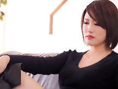 Cool Japanese chick in Incredible HD, Latex JAV movie