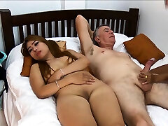Thai girlfriend brings her homie along for a threesome