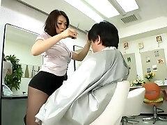 Avs-museum100438 Erotic Mini Micro-skirt Barber Reiko Nakamori Sc1 Uncensored