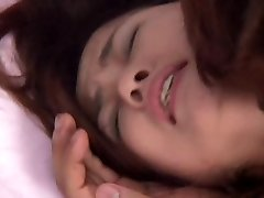 Taking his knob between her mammories