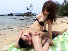Amazing Japanese biotch Shizuku Natsukawa in Hottest Girlfriend, Outdoor JAV movie