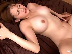 Asian sweetie teases the camera before getting pummeled