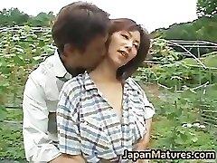 Chisato Shouda Japanese mature chick gets part3
