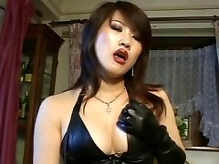 Japanese belt cock domme