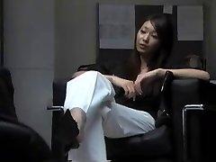 Asian Boot Worship
