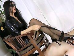 Smoking sizzling Japanese mistress