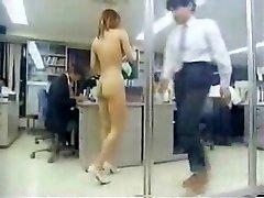 Asian Girl At Work Naked