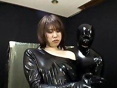 Asian Spandex Catsuit 66