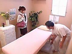 Cute babe gets banged hard in voyeur Japanese sex flick
