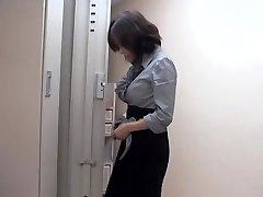 Naughty japanese slut fucked by massagist in sexy voyeur movie
