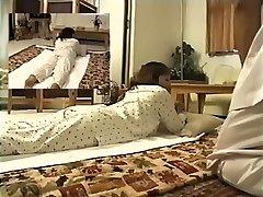 Adorable Jap enjoys in spy cam erotic massage movie