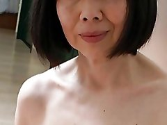Asian Mature with Spectacular Nipples