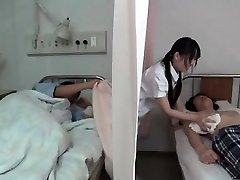 Horny brown-haired Chinese nurse part4