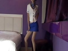 Korean Pantyhose air stewardess
