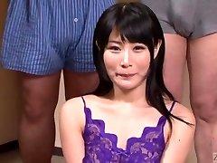 Subtitled Japanese gokkun swallowing soiree with Chigusa Hara
