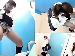 Japanese teenager pissing
