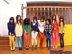 Chinese dolls peeing