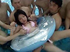 Intercourse in Public Pool